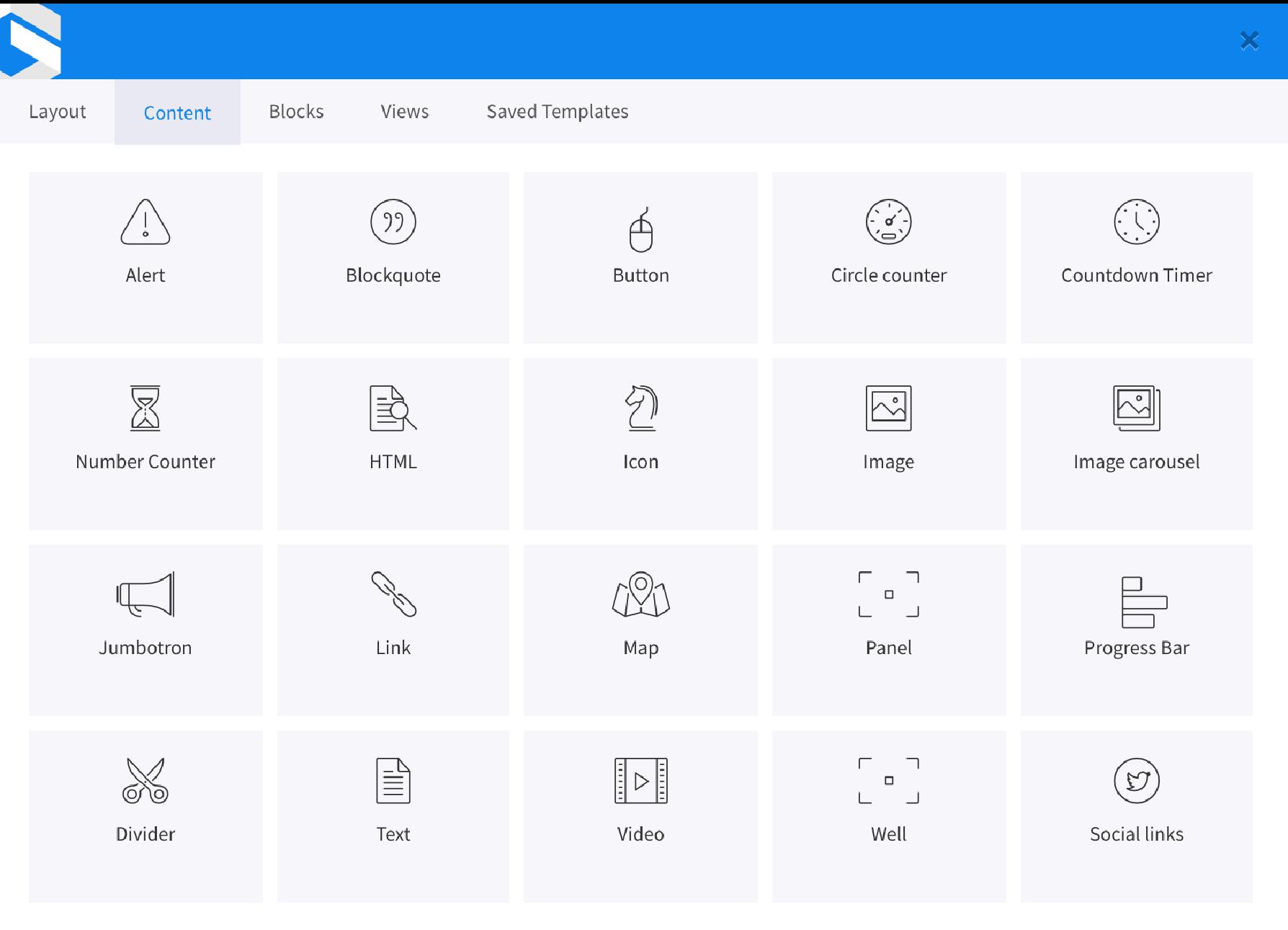 Glazed Drupal Page Builder Marketing Tools