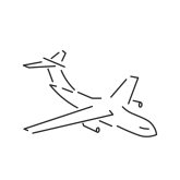 Airplane Icon Clean