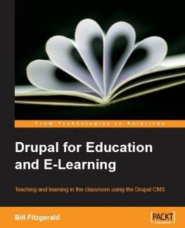 Drupal 8 books For Education
