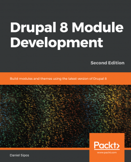 Drupal 8 books Module Development