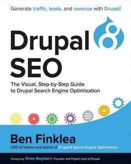 Drupal 8 books SEO