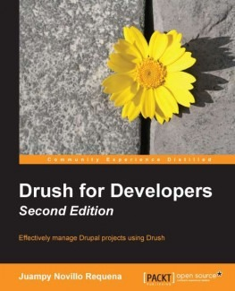 Drupal 8 books Drush