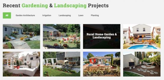 Landscaping Theme Project Gallery