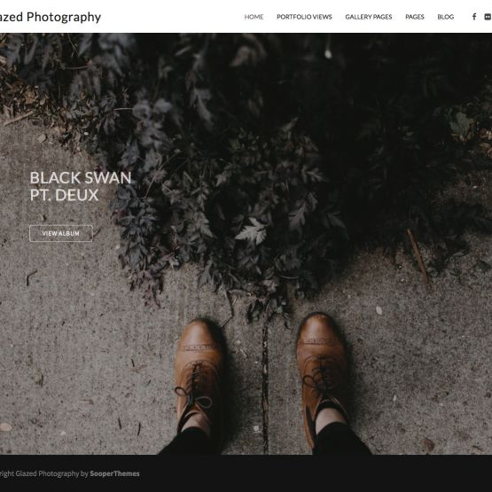 Photography Drupal Theme Slider Carousel