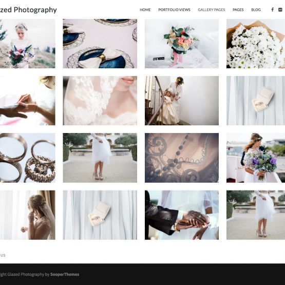 Photography Drupal Theme Full-width Gallery