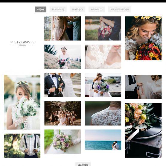 Photography Drupal Theme Premium Portfolio