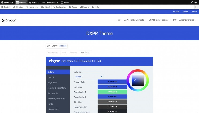 Best Drupal 9 themes