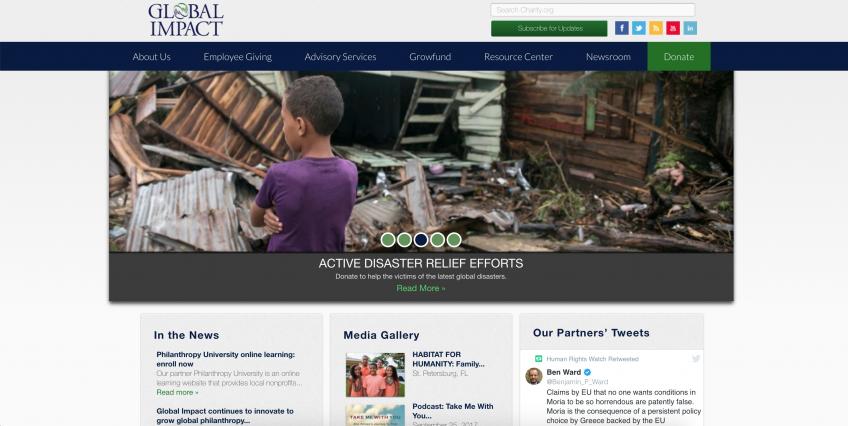 Global Impact Website