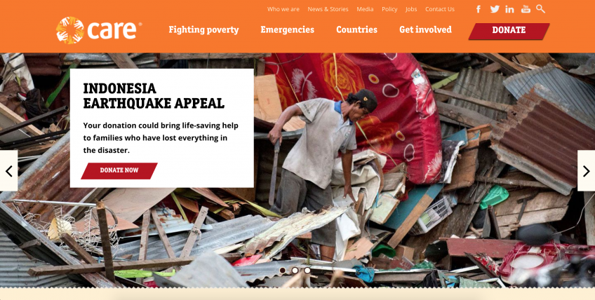 Care International Website