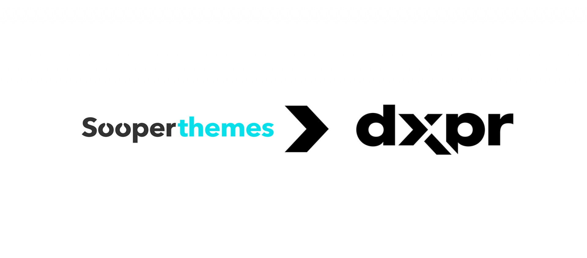 Sooperthemes logo and DXPR logo