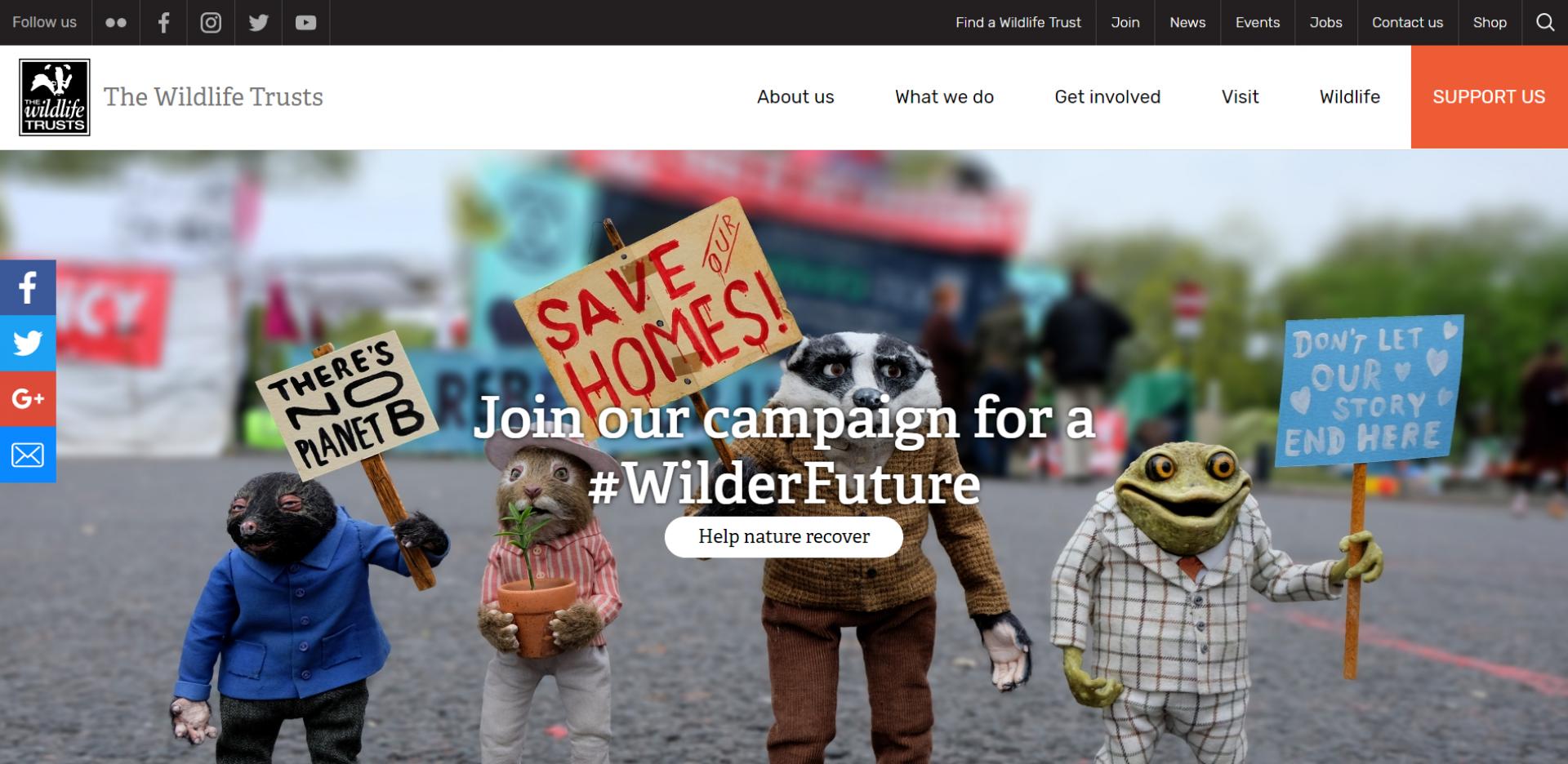 Wildlife Trust Drupal