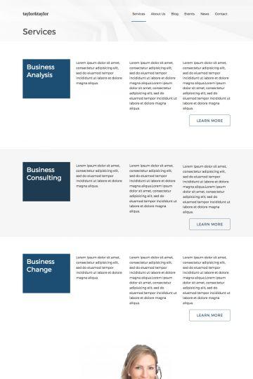 Business Drupal Theme Screenshot