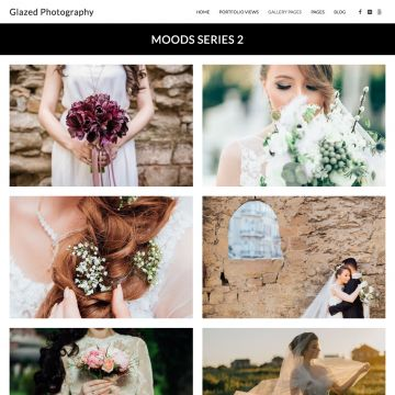 Photography Drupal Theme 2 column Gallery