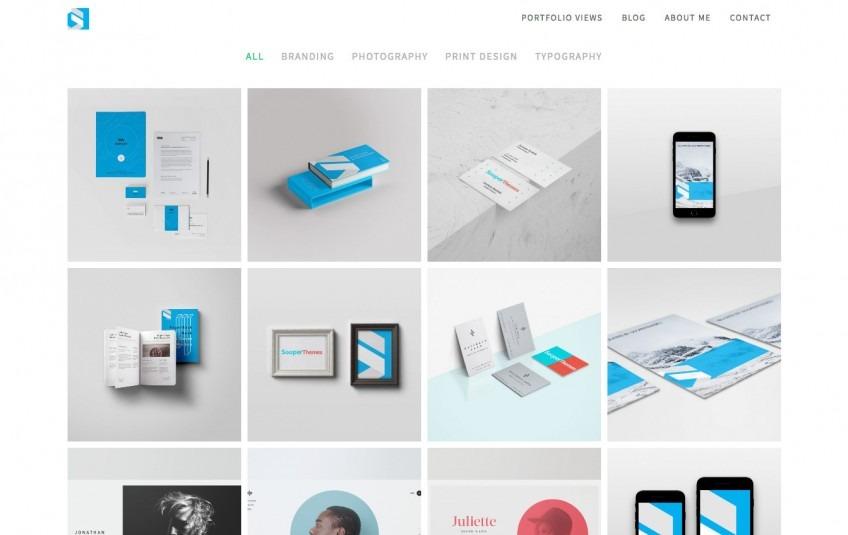 Portfolio Drupal Theme - Drupal 8 & 7 | Sooperthemes