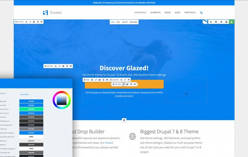 drupal themes open source